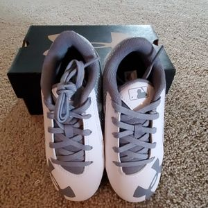 Under Armour  Baseball Cleats White New In Box